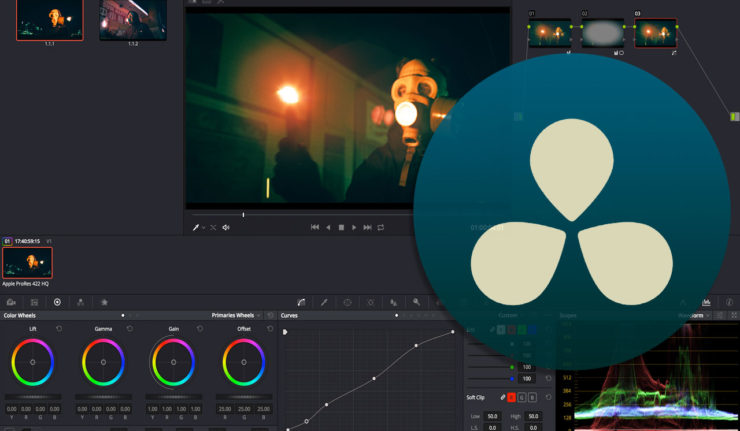 DaVinci Resolve Colour Page Overview