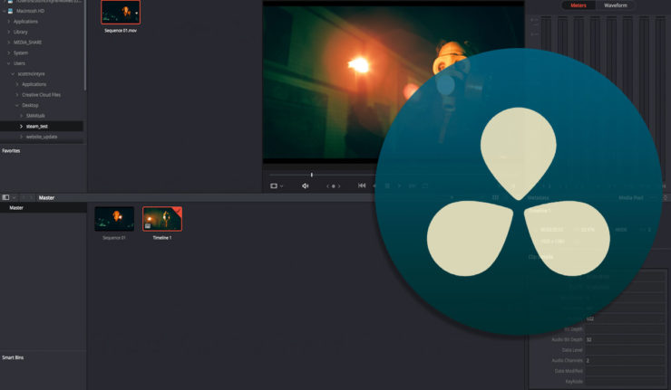 DaVinci Resolve Media Page Overview
